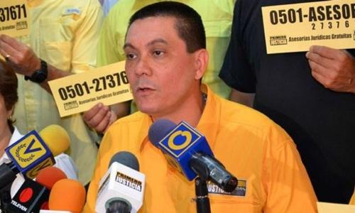 Fernando Alban, người bị cáo buộc đứng sau âm mưu ám sát Tổng thống Venezuela. Ảnh: AFP.