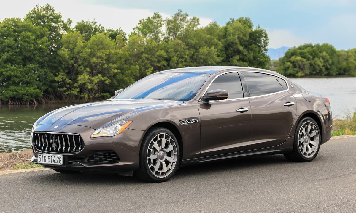 Maserati Quattroporte - xế sang khác lạ cho nhà giàu Việt