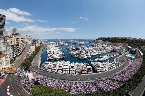 Giải đua F1 tổ chức tại Monaco. Ảnh: Sharenewwalter.