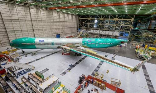 Chiếc máy bay sẽ trải qua một năm thử nghiệm trên mặt đất. Ảnh: CNN.