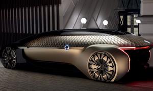 Mẫu xe điện tự lái siêu sang của công ty Pháp