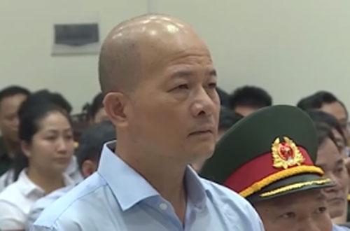 Bị cáo Đinh Ngọc Hệ tại phiên xét xử sơ thẩm.