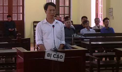 Bị cáo Hân tại phiên sơ thẩm. Ảnh: Lam Sơn.