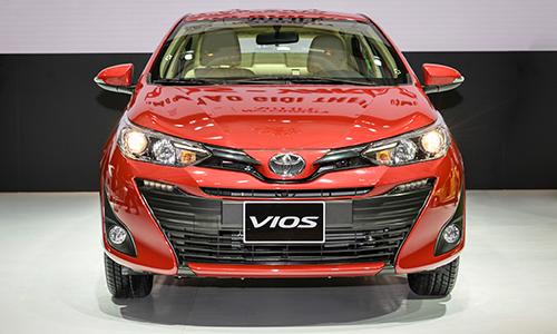 Toyota Vios 2018, ra mắt hồi tháng 8 tại Hà Nội, hiện có doanh số đứng đầu thị trường.