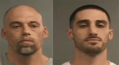 Hai tù nhân Justin Stumler (phải) và Jeremy Hunt. Ảnh: Louisville Metro Department of Corrections