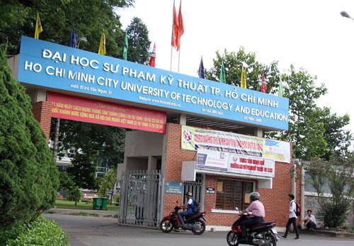Đại học Sư phạm Kỹ thuật TP HCM tại quận Thủ Đức. Ảnh: Mạnh Tùng.