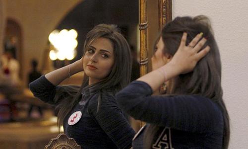 Shimaa Qasim Abdulrahman khi tham dự Hoa hậu Iraq năm 2015. Ảnh: