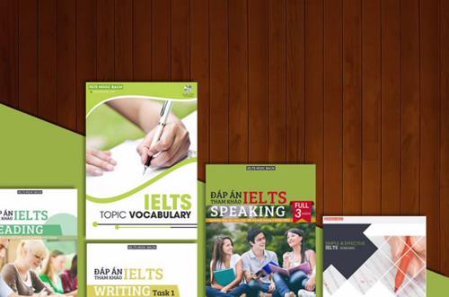 Bộ sách tự học IELTS đơn giản và hiệu quả, viết bởi giáo viên Ngọc Bách