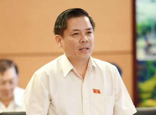 Bộ trưởng Giao thông Nguyễn Văn Thể. Ảnh: Ngọc Thắng