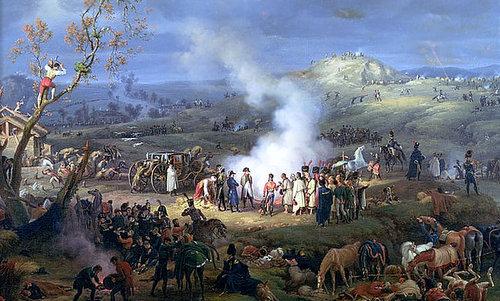 Quân Pháp trước trận Austerlitz. Ảnh: War History.
