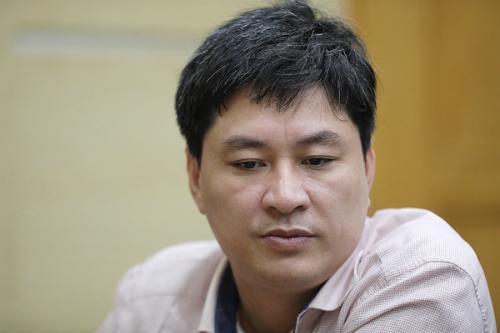 Ông Phạm Tuấn Anh, Phó giám đốc Công ty Điện lực Hoàng Mai.