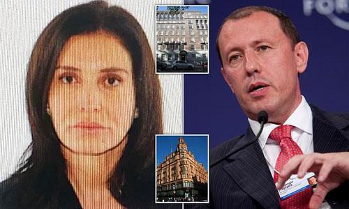 Vợ chồng Zamira Hajiyeva và Jahangir Hajiye. Ảnh: Independent.