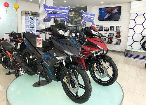 Exciter 150 2018 tại đại lý của Yamaha. Ảnh: Thành Nhạn.