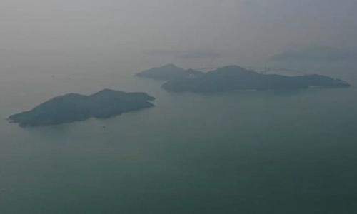 Đảo Hỷ Linh Châu. Ảnh: SCMP.