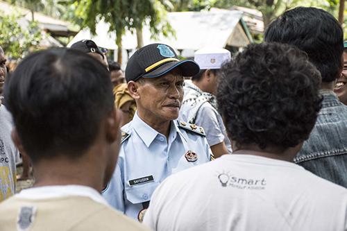 Những tù nhân Indonesia tự nguyện quay lại trại giam sau động đất, sóng thần - ảnh 2