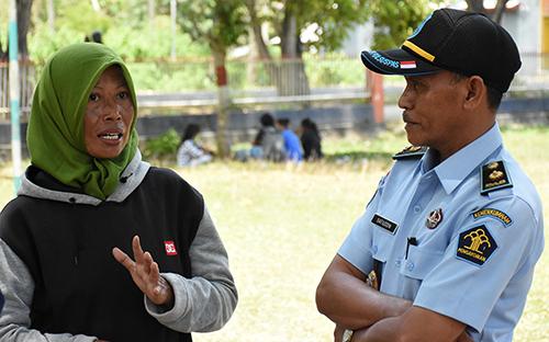 Những tù nhân Indonesia tự nguyện quay lại trại giam sau động đất, sóng thần - ảnh 3