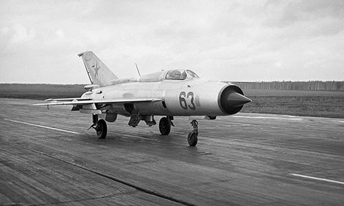 Đầu những năm 1960, tiêm kích MiG-21 lập kỷ lục về tốc độ bay. Ảnh: Sputnik.