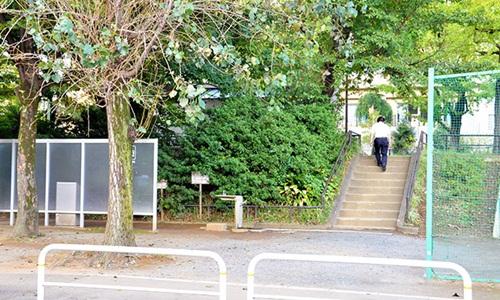 Công viên Nishi-Toyama ở Tokyo, nơi tập trung nhiều lao động tìm kiếm việc làm trong ngành xây dựng. Ảnh: Asahi.