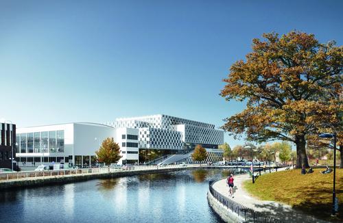 Trường Đại học Mälardalen, thành phố Västerås, Thụy Điển. Ảnh: Adsttc.