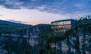 Bảo tàng rộng 800 m2 trên đỉnh vách núi Trung Quốc