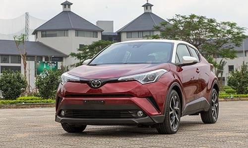 Toyota C-HR 2019 được doanh nghiệp tư nhân nhập khẩu về Việt Nam. Ảnh: Lương Dũng.