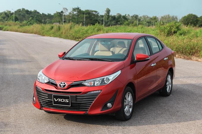 Toyota Vios 2018 tại Hà Nội.