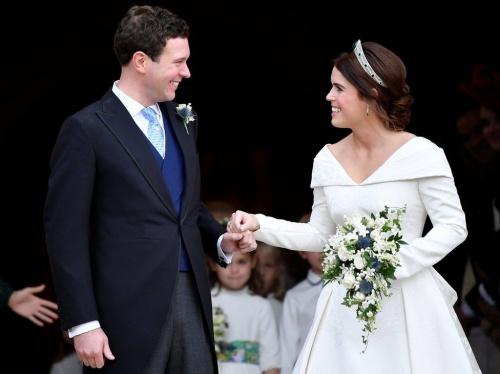 Công chúa Anh hạnh phúc trong hôn lễ hôm nay. Ảnh: Reuters.
