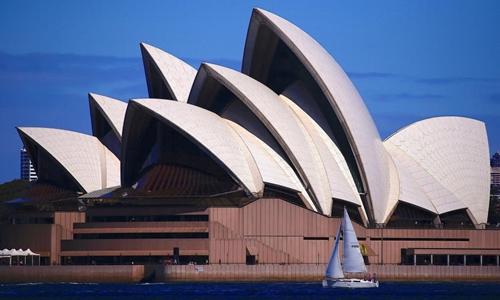 Nhà hát Opera Sydney của Australia. Ảnh: Reuters.