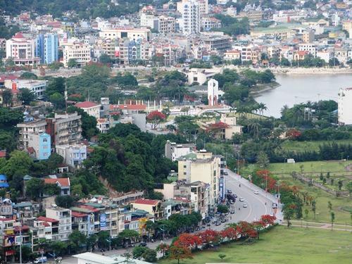 Trung tân TP Hạ Long, Quảng Ninh. Ảnh: Minh Cương