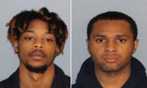 Hayes (trái) và Ice (phải), hai kẻ bị truy tố tội cưỡng hiếp trẻ em. Ảnh: Phòng công tố hạtShelby.