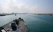 Chiến hạm Mỹ lần đầu cập cảng miền nam Israel trong 20 năm