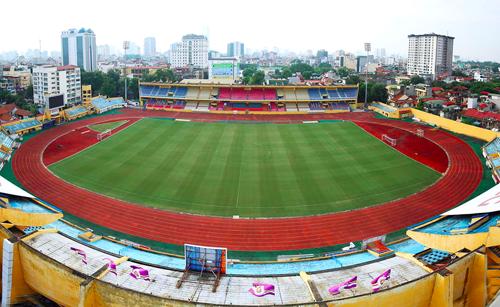 Sân vận động Hàng Đẫy. Ảnh; Ngọc Thành.
