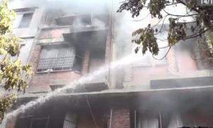 Cháy xưởng sản xuất sofa tại Hà Nội, một người tử vong