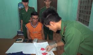 Biên phòng Quảng Trị phát hiện hai vụ vận chuyển ma túy
