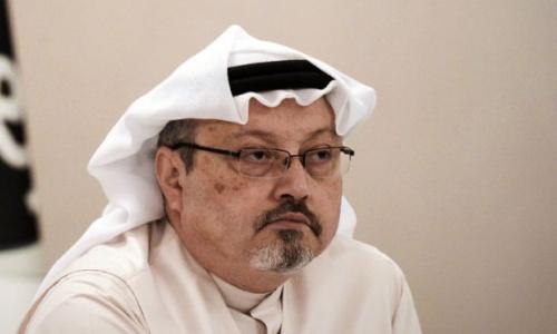 Nhà báo Khashoggi. Ảnh: AFP.