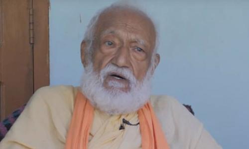 Nhà hoạt động vì môi trường GD Agarwal. Ảnh: ABC.