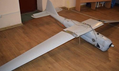 Xác chiếc Orlan-10 do Ukraine công bố. Ảnh: Defense Blog.