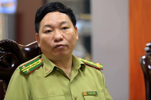 Ông Lê Minh Tuyên, Chi cục trưởng Chi cục kiểm lâm Hà Nội. Ảnh: Gia Chính