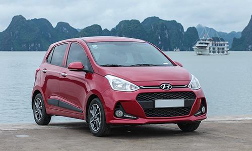 Hyundai Grand i10 lắp ráp tại việt Nam. Ảnh: Lương Dũng.