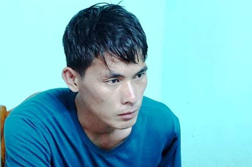 Nam thanh niên người Lào khai chở thuê ba tạ ma tuý để nhận 10.000 USD tiền công. Ảnh: NgôQuang Văn