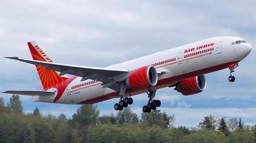 Một máy bay chở khách Boeing-777 của Air India. Ảnh: Air India.