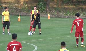 HLV Park Hang-seo chưa tìm được vị trí thay thế Văn Thanh