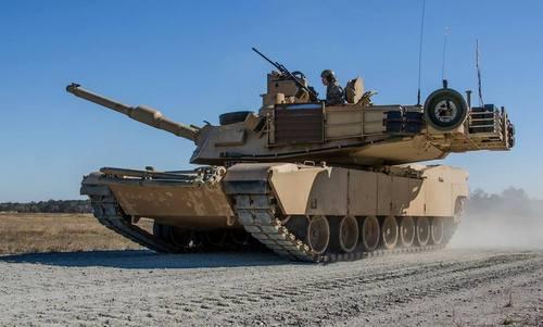 Xe tăng M1A2 Abrams của Mỹ. Ảnh: Lầu Năm Góc.