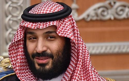 Thái tử Mohammed bin salman tại một cuộc họp ở Riyadh tháng 11/2017. Ảnh: AFP.