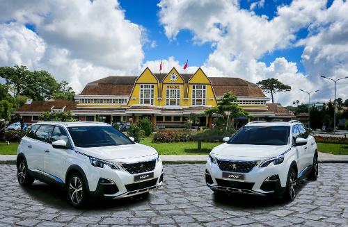 Bộ đôi Peugeot 3008 và 5008 tại Ga Đà Lạt