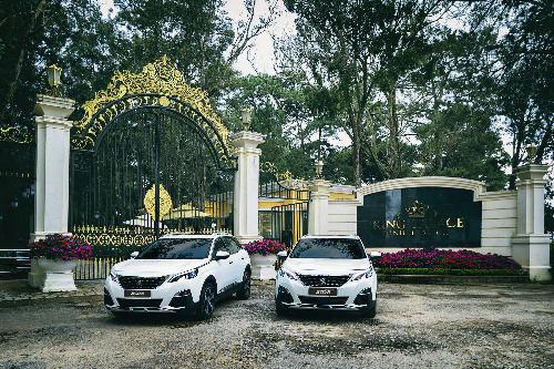 Peugeot 3008 và 5008 trước Dinh I