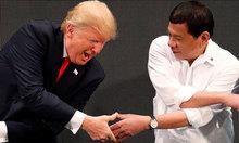 Cú 'xoay trục' của Duterte giữa cuộc đấu Mỹ - Trung