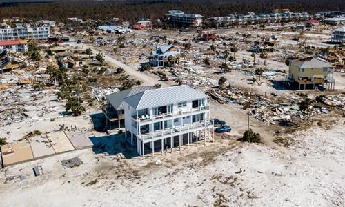 Căn nhà pháo đài đứng vững trong bão Michael ở Mỹ