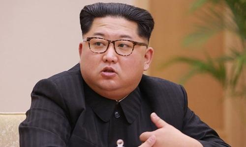 Lãnh đạo Triều Tiên Kim Jong-un. Ảnh: AFP.