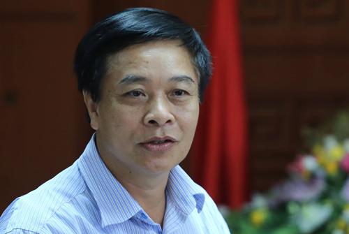 Tổng giám đốc VEC Trần Văn Tám. Ảnh: Đắc Thành.